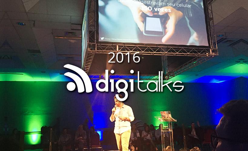 A Idealize Tecnologia esteve no Digitalks 2016 em Florianópolis! Confira as novidades