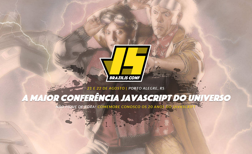 A Idealize Tecnologia esteve presente no Brazil JS 2015! A maior conferência JavaScript do mundo