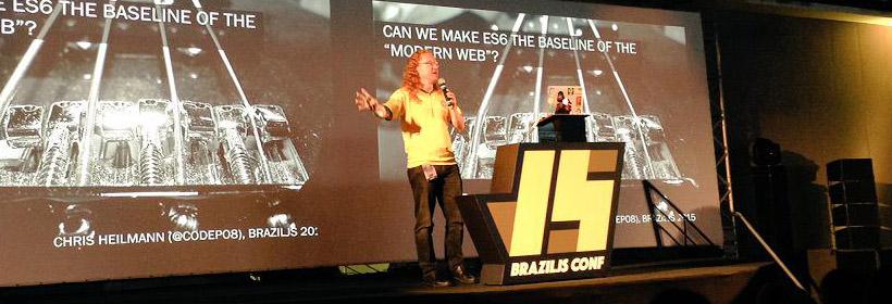 Idealize Tecnologia - A Idealize Tecnologia esteve presente no Brazil JS 2015! A maior conferência JavaScript do mundo (8)
