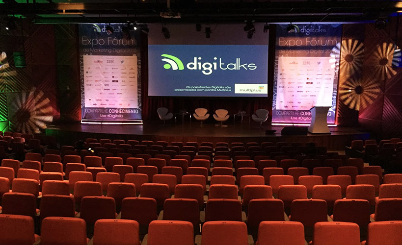 Na última semana a Idealize Tecnologia marcou presença no Expo Fórum de Marketing Digital – Digitalks