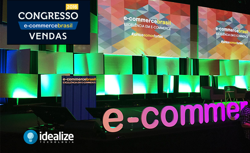Novidades, dicas e tendências apresentadas no Congresso de E-Commerce Brasil Vendas 2016 em São Paulo